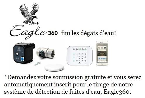 eagle 360 l'eau